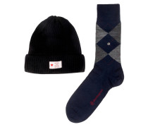 Geschenkset Socken und Mütze