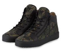 Hightop-Sneaker SEATTLE - SCHWARZ/ KHAKI