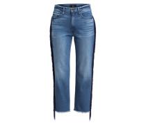 7/8-Jeans W3 mit Fransen