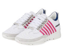 Sneaker - weiss/ pink/ blau