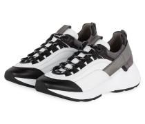 Plateau-Sneaker HIT - SCHWARZ/ WEISS/ GRAU