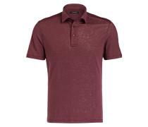 Leinen-Poloshirt