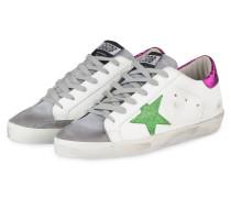Sneaker SUPERSTAR - WEISS/ GRAU/ PINK