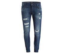 Destroyed-Jeans BILLY THE KID Slim-Fit