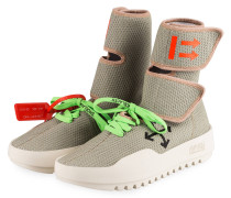 Hightop-Sneaker CST-001 - HELLGRAU