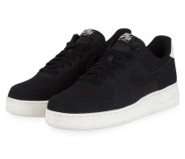 Sneaker AIR FORCE 1 `07 SUEDE - SCHWARZ