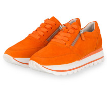 Plateau-Sneaker - ORANGE