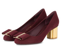 Pumps CAPUA - BURGUNDY