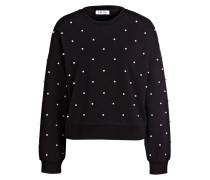 Sweatshirt ANISA mit Perlenbesatz