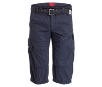 Cargo-Bermudas FILE Loose-Fit - navy