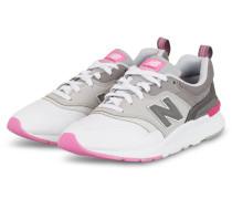 Sneaker 997H - WEISS/ PINK