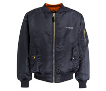 Wende-Blouson ALPHA - navy/ orange