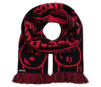 Schal - schwarz/ rot