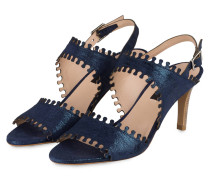 Sandaletten - NAVY METALLIC