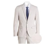 Anzug Slim-Fit - beige