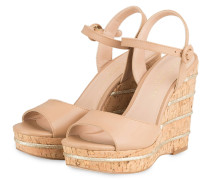 Wedges ALLY - BEIGE