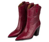 Cowboy Boots - FUCHSIA