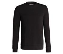 Sweatshirt HARPO mit monochromem Logo-Stitching