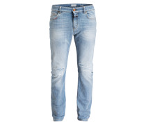 Destroyed-Jeans UNITY Slim-Fit
