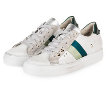 Plateau-Sneaker - WEISS/ GRÜN