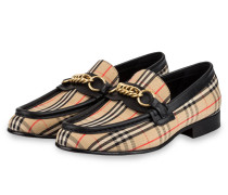 Loafer THE LINK - BEIGE/ SCHWARZ/ ROT