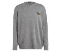 Oversized-Pullover aus Cashmere