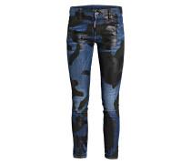 Coated-Jeans RUNWAY