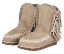 Fell-Boots ESKIMO FRINGES - GREIGE