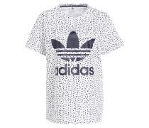 T-Shirt - weiss/ schwarz