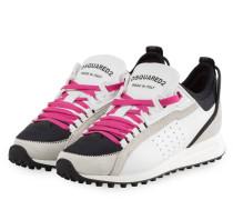 Sneaker - WEISS/ HELLGRAU/ SCHWARZ