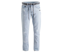 Destroyed-Jeans Slim-Fit