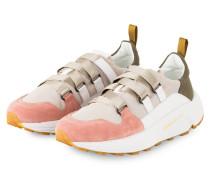 Sneaker - BEIGE/ HELLROT/ KHAKI
