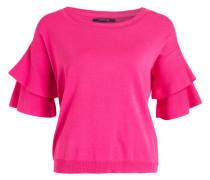 Pullover mit 3/4-Arm - pink