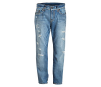 Destroyed-Jeans GENO SUPER-T Relaxed Slim-Fit