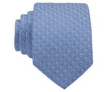 Krawatte - blau/ silber