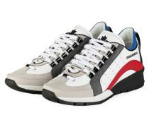 Sneaker 551 - WEISS/ HELLGRAU/ ROT