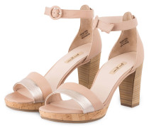 Sandalette - ROSÉ/ SILBER