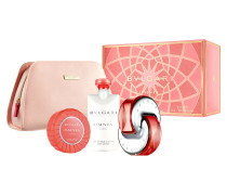 OMNIA CORAL POUCH SET