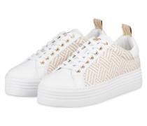 Plateau-Sneaker ORLANDO - WEISS