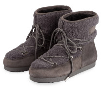 Moon Boots FAR SIDE SHEARLING - ANTHRAZIT
