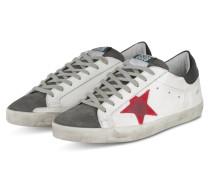 Sneaker SUPERSTAR - WEISS/ GRAU/ ROT