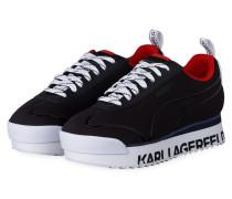 Plateau-Sneaker ROMA AMOR - SCHWARZ
