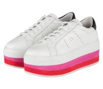 Plateau-Sneaker DIANE - WEISS