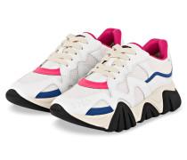 Sneaker SQUALO - WEISS/ PINK