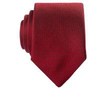 Krawatte - rot strukturiert