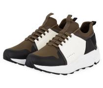 Sneaker HORIZON_RUNN - oliv/ weiss