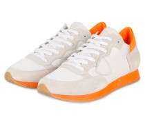 Sneaker TROPEZ - HELLGRAU/ ORANGE