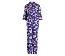 Pyjama - blau/ rosa/ orange