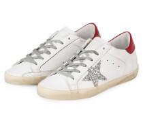 Sneaker SUPERSTAR - WEISS/ ROT