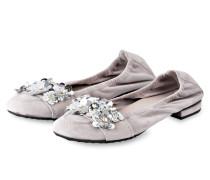 Ballerinas MALU - GRAU/ SILBER